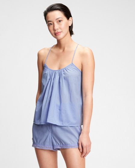 GAP Dreamwell Shirred Racerback Closing Word Потник за спане