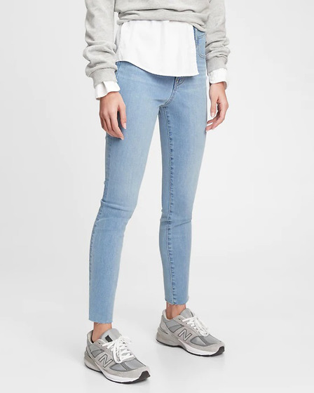 GAP The Gen Good High Rise True Skinny Дънки